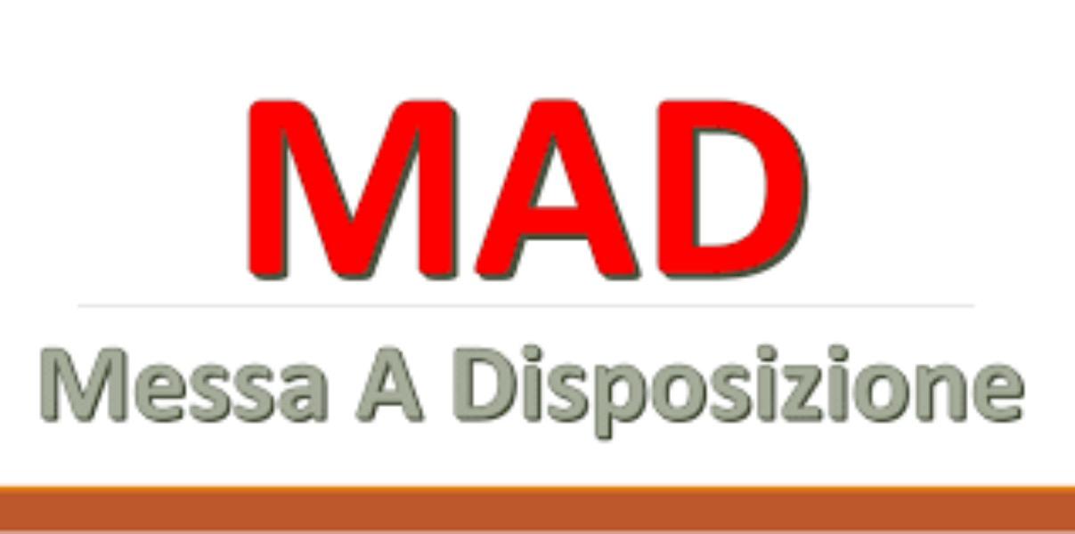 M.A.D. 2020-21 - Domande di messa a disposizione