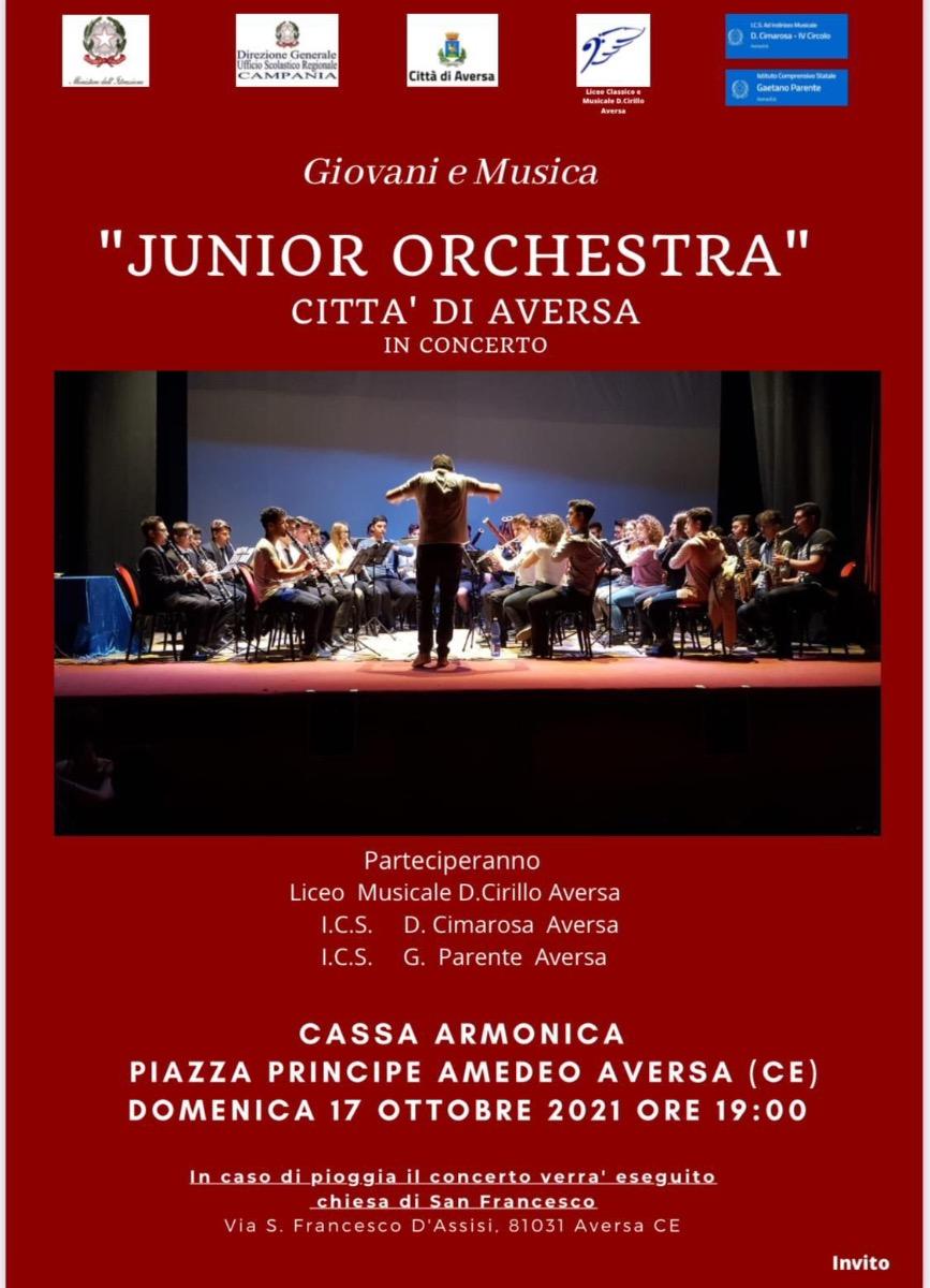 Orchestre Junior verticali delle Istituzioni sc...
